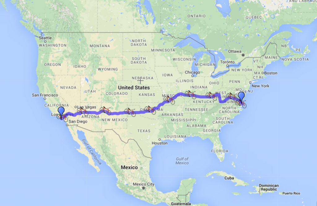 G4L Route Map